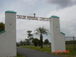 Taylor Memorial Cemetery