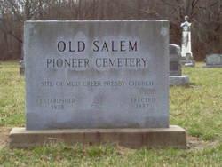 Old Salem Pioneer Cemetery