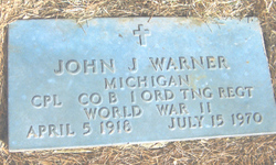 Corp Johnathon J. John Warner