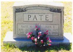 John Thomas Johnny Pate