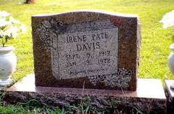 Cassie Irene <i>Pate</i> Davis