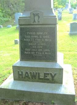 Sally <i>Lewis</i> Hawley
