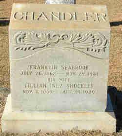 Lillian Inez <i>Shockley</i> Chandler