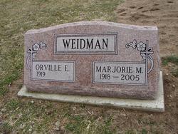 Marjorie M <i>Bueschlen</i> Weidman
