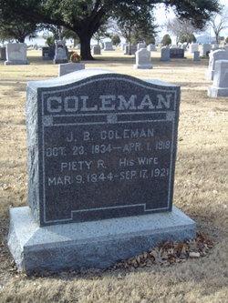 J B Coleman