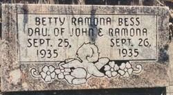 Betty Ramona Bess