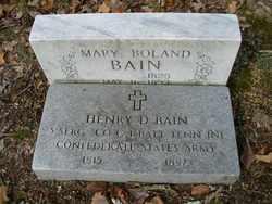 Henry D. Bain