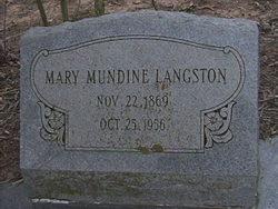 Mary Permilla <i>Mundine</i> Langston
