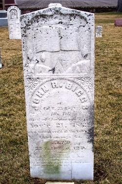 Pvt John R. Biggs