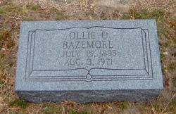 Ollie O. Bazemore