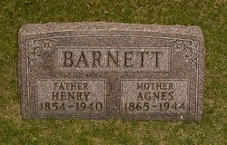 Agnes Reed <i>Heller</i> Barnett