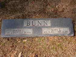 Mary E <i>Davis</i> Bunn