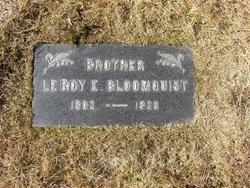 Le Roy Edwin Bloomquist