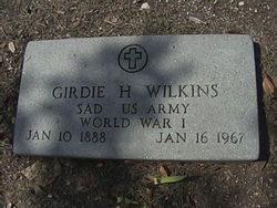 Girdie H Wilkins