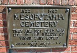 Mesopotamia Cemetery