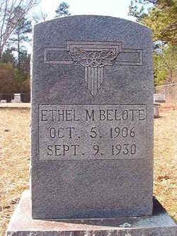 Ethel M Belote