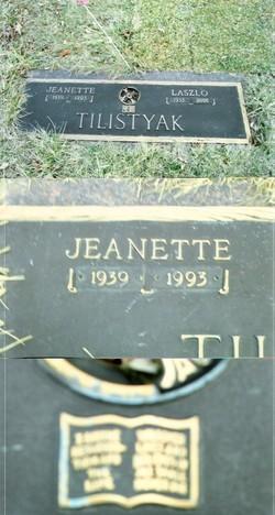 Jeanette M Tilistyak