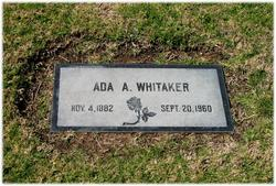 Ada A Whitaker