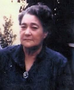 Alice Mable <i>Carrell</i> Buchanan