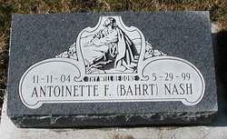 Antoinette F Nash