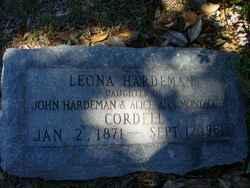 Leona <i>Hardeman</i> Cordell