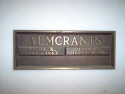 John H Almcrants