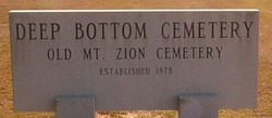 Deep Bottom Cemetery