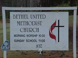 Bethel United Methodist Churchyard