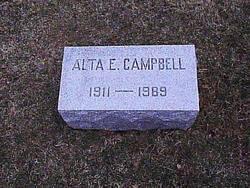 Alta E. Campbell