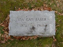 Ida <i>Gay</i> Baker