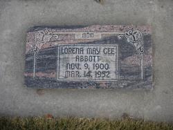 Lorena May <i>Gee</i> Abbott