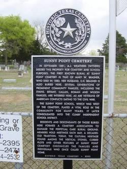 Sunny Point Cemetery