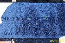 Helen <i>Kozar</i> Briggs