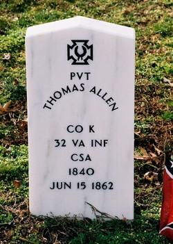 Pvt Thomas Allen