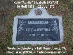 Katie Elizabeth Auntie <i>Bryant</i> Berryman