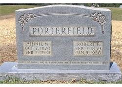 Minnie Elizabeth <i>Dickey</i> Porterfield