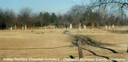 Indian Territory Checotah Cemetery