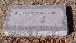 Mildred <i>Martin</i> George