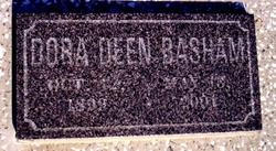 Dora Deen <i>Clevenger</i> Basham