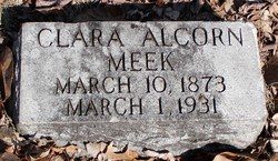 Clara <i>Alcorn</i> Meek