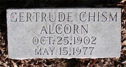 Gertrude <i>Chism</i> Alcorn