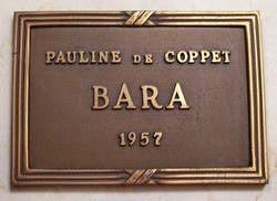 Pauline Louise Francoise <i>De Coppet</i> Bara