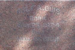 Rolf A. Duis