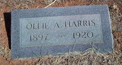 Ollie A. Harris