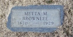 Matella Marie Metta <i>Jones</i> Brownlee