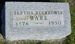 Bertha Beatrice <i>Beerbower</i> Bare