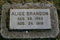 Alice <i>Cooley</i> Brandon