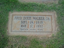 Fred Dixie Walker