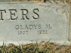 Gladys Marie <i>Patchin</i> Walters