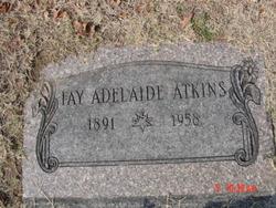 Fay Adelaide Atkins